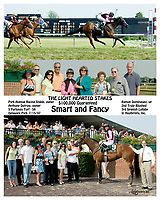 Smart & Fancy winning The Light hearted Stakes at Delaware Park on 7/15/07