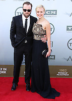 HOLLYWOOD, LOS ANGELES, CA, USA - JUNE 05: Joshua Leonard, Alison Pill at the 42nd AFI Life Achievement Award Honoring Jane Fonda held at the Dolby Theatre on June 5, 2014 in Hollywood, Los Angeles, California, United States. (Photo by Xavier Collin/Celebrity Monitor)