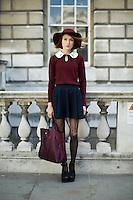 London Fashion Week Street Style September 2012