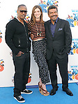 Jamie Foxx,Anne Hathaway and George Lopez at The Twentieth Century Fox Voice Presentation of RIO held at The Zanuck Theatre on Twentieth Century Fox Lot in Los Angeles, California on January 28,2011                                                                               © 2010 DVS/Hollywood Press Agency