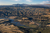 aerial photograph of Cachuma Lake Recreation Area, Santa Barbara County, California