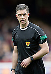 Motherwell v St Johnstone…18.03.17     SPFL    Fir Park<br />Referee Greg Aitken<br />Picture by Graeme Hart.<br />Copyright Perthshire Picture Agency<br />Tel: 01738 623350  Mobile: 07990 594431