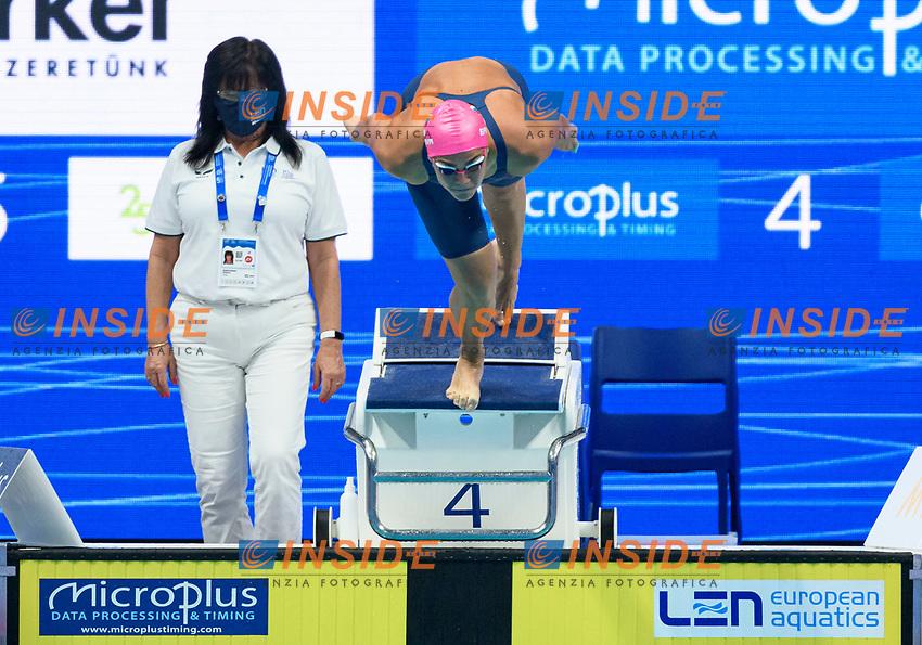 200m Breaststroke Women Preliminary<br /> Swimming<br /> Budapest  - Hungary  19/5/2021<br /> Duna Arena<br /> XXXV LEN European Aquatic Championships<br /> Photo Giorgio Perottino / Deepbluemedia / Insidefoto