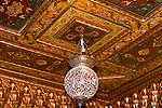 Ceiling, Sciam Restaurant, Rome, Italy, Europe