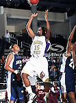 Prairie View A&M Lady Panthers guard Trinity Robinson (15) in action during the SWAC Tournament game between the Prairie View A&M Lady Panthers and the Jackson State Tigerettes  at the Special Events Center in Garland, Texas. Prairie View defeats Jackson State 56 to 40.