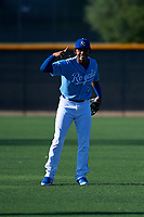 AZL Royals Herard Gonzalez (2) poses for a photo before an Arizona League game against the AZL Brewers Blue at Surprise Stadium on June 18, 2019 in Surprise, Arizona. AZL Royals defeated AZL Brewers Blue 12-7. (Zachary Lucy/Four Seam Images)