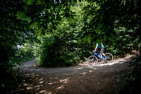 down the Rode Berg<br /> cycling hotspots & impressions in Heuvelland<br /> <br /> Cycling In Flanders <br /> Flanders Tourist Board<br /> <br /> ©kramon