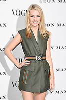 Lottie Moss<br /> at the Vogue 100: A Century of Style exhibition opening held in the National Portrait Gallery, London.<br /> <br /> <br /> ©Ash Knotek  D3080 09/02/2016