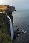 cascade de Kilt Rock, côte est de l'ile de Skye