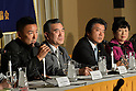 Press conference against Shinzo Abe at FCCJ