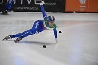 SPEEDSKATING: DORDRECHT: 07-03-2021, ISU World Short Track Speedskating Championships, Final A 5000m Relay, Luca Spechenhauser (ITA), ©photo Martin de Jong