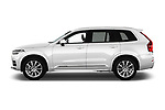 Car Driver side profile view of a 2018 Volvo XC90-4WD Inscription 5 Door SUV Side View