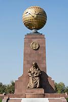 Denkmal der Unabhängigkeit (Mustaqillik Yodgorligi), Taschkent, Usbekistan, Asien