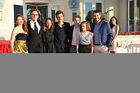 ELODIE FREGE, GABRIEL LE BOMIN, SALOME RICHARD, OLIVIER CHANTREAU, SWANN ARLAUD, SOLENE RIGOT ET YANISS LESPERT - 31EME FESTIVAL DE CABOURG 2017 . CABOURG, FRANCE, 16/06/2017.