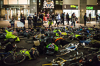 """02.03.2015 - """"Protest, then Vigil and Die-In to remember Claire Hitier-Abadie"""""""