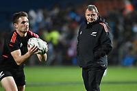 17th July 2021; Hamilton, New Zealand;  Coach Ian Foster. All Blacks versus Fiji, Steinlager Series, international rugby union test match. FMG Stadium Waikato, Hamilton, New Zealand.