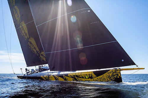 The new ClubSwan 125 Skorpios will be the largest monohull ever to have entered the Rolex Fastnet Race