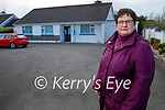 Michelle Buckley standing at Southdoc in Listowel as she had 1500 people sign her petition to reopen the services in Listowel.