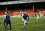 Dundee United v St Johnstone…12.01.21   Tannadice     SPFL<br />Guy Melamed and Liam Craig lead the pre match warm up<br />Picture by Graeme Hart.<br />Copyright Perthshire Picture Agency<br />Tel: 01738 623350  Mobile: 07990 594431