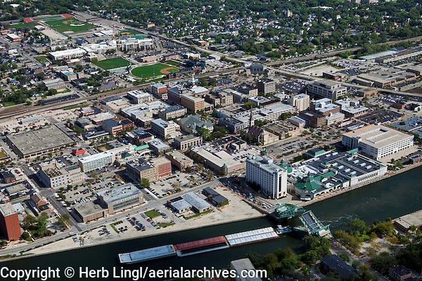 aerial photograph Joliet, Illinois