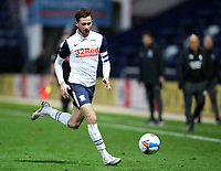 31st October 2020; Deepdale Stadium, Preston, Lancashire, England; English Football League Championship Football, Preston North End versus Birmingham City; Alan Browne of Preston North End runs with the ball