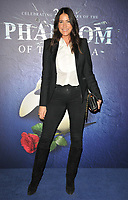 """Lisa Snowdon at the """"The Phantom Of The Opera"""" 35th anniversary gala performance, Her Majesty's Theatre, Haymarket, on Monday 11th October 2021, in London, England, UK. <br /> CAP/CAN<br /> ©CAN/Capital Pictures"""
