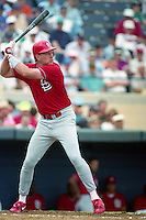 St. Louis Cardinals Tracy Woodson (54) during Spring Training 1993 at Joker Marchant Stadium in Lakeland, Florida.  (MJA/Four Seam Images)