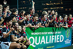 Hong Kong Women's Team during the Womens Rugby World Cup 2017 Qualifier match between Hong Kong and Japan on December 17, 2016 in Hong Kong, Hong Kong. Photo by Marcio Rodrigo Machado / Power Sport Images