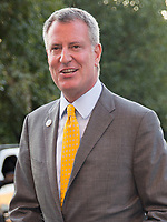 NEW YORK, NY - AUGUST 25: Bill de Blasio  attends the 14th Annual USTA Opening Night Gala at USTA Billie Jean King National Tennis Center on August 25, 2014 in New York City<br /> <br /> <br /> People:  Bill de Blasio