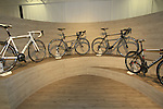 The CLX collection on display in the showroom, Colnago Factory, Cambiago, Italy. 30th September 2015.<br /> Picture: Eoin Clarke | Newsfile