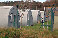 Pictured: The Penally Army Centre in west Wales, UK.<br /> Re: There was no consultation with local communities or the Welsh Government over possible plans to house about 250 asylum seekers it has been claimed, at a military base, at Penally, west Wales, UK.<br /> The Penally Army centre in Pembrokeshire is one of several sites being considered by the Home Office.<br /> But the Welsh Government said on social media it had not been approached.