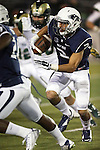 Nevada's Richy Turner (2) runs against Colorado State during the second half of an NCAA college football game in Reno, Nev., on Saturday, Oct. 11, 2014. Colorado State defeated Nevada 31-24. (AP Photo/Cathleen Allison)