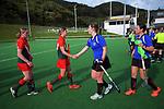 Wairarapa v Canterbury 2. 2021 National Women's Under-18 Hockey Tournament day four at National Hockey Stadium in Wellington, New Zealand on Wednesday, 14 July 2021. Photo: Dave Lintott / lintottphoto.co.nz https://bwmedia.photoshelter.com/gallery-collection/Under-18-Hockey-Nationals-2021/C0000T49v1kln8qk