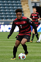 Chester, PA - Sunday December 10, 2017: Bryce Marion. Stanford University defeated Indiana University 1-0 in double overtime during the NCAA 2017 Men's College Cup championship match at Talen Energy Stadium.