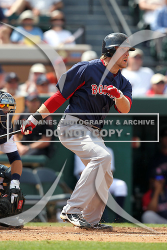 Boston Red Sox Lars Anderson #78 during a spring training game vs. the Detroit Tigers at Joker Marchant Stadium in Lakeland, Florida;  March 15, 2011.  Boston defeated Detroit 2-1.  Photo By Mike Janes/Four Seam Images