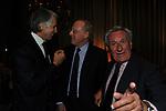 GIOVANNI MALAGO', PAOLO SCARONI E GUIDO ALBERTO GUIDI<br /> PREMIO GUIDO CARLI - TERZA  EDIZIONE<br /> PALAZZO DI MONTECITORIO - SALA DELLA LUPA<br /> CON RICEVIMENTO  HOTEL MAJESTIC   ROMA 2012