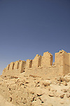 Israel, Negev, remains of the German-Turkish hospital (1906-1917) built on ruins of Byzantine fort at Tel Nitzana