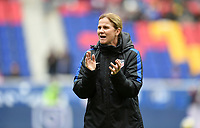 Harrison, N.J. - Sunday March 04, 2018: Jill Ellis during a 2018 SheBelieves Cup match between the women's national teams of the United States (USA) and France (FRA) at Red Bull Arena.