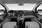 Stock photo of straight dashboard view of a 2019 Hyundai H1-People Executive 5 Door Mini Van