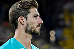 14.02.2020, Signal Iduna Park, Dortmund, GER, 1. BL, Borussia Dortmund vs Eintracht Frankfurt, DFL regulations prohibit any use of photographs as image sequences and/or quasi-video<br /> <br /> im Bild / picture shows / Kevin Trapp (#1, Eintracht Frankfurt) Portrait, Halbportrait, Bild, Einzel, Einzelaufnahme, picture, single, solo, alleine <br /> <br /> Foto © nordphoto/Mauelshagen