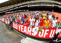 WASHINGTON D.C. - September 02, 2013:<br /> Fans During a USA WNT open practice at RFK Stadium, in Washington D.C. the day before the USA v Mexico international friendly match.