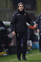 Filippo Inzaghi coach of Benevento Calcio gestures during the Serie A football match between Benevento Calcio and AC Milan at stadio Ciro Vigorito in Benevento (Italy), January 03rd, 2021. <br /> Photo Cesare Purini / Insidefoto