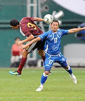 El Salvador vs Venezuela, August 7, 2011