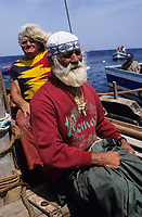 ITALY, Sicily, Egedian island Favignana, La Mattanza, traditional fishing of bluefin Tuna fish