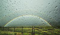 Raindrops & Rainbows - Colorado - the Dallas Divide in the San Juan Mountains