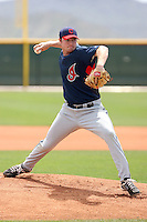 Alex White, Cleveland Indians 2010 minor league spring training..Photo by:  Bill Mitchell/Four Seam Images.