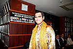 Japanese comedian Pikotaro (Piko Taro) arrives at the Foreign Correspondents' Club of Japan on October 28, 2016, Tokyo, Japan. Pikotaro (real name Kazuhito Kosaka and also known by his stage name Daimaou Kosaka) received a certificate from Guinness World Record for his song ''PPAP'' for being the shortest song ever to enter the Billboard Hot 100. With over 130 million YouTube views, the song has inspired countless imitators uploading their original versions. Celebrities like the Canadian pop star Justin Bieber helped promote the song by sharing PPAP as his favorite video on the internet via his Twitter account. (Photo by Rodrigo Reyes Marin/AFLO)