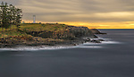 Just after dawn in the small coastal town of Kiama on the south coast of NSW in Australia