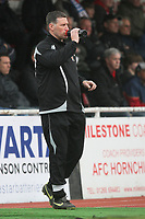 AFC Hornchurch manager Jim McFarlane - AFC Hornchurch vs Billericay Town - Ryman League Premier Division Football at The Stadium, Upminster Bridge, Essex - 09/04/12 - MANDATORY CREDIT: Gavin Ellis/TGSPHOTO - Self billing applies where appropriate - 0845 094 6026 - contact@tgsphoto.co.uk - NO UNPAID USE