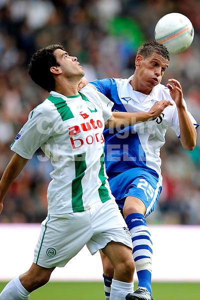 voetbal fc groningen - fc utrecht eredivisie seizoen 2008-2009 14-09-2008 van der laak. fotograaf Jan Kanning.